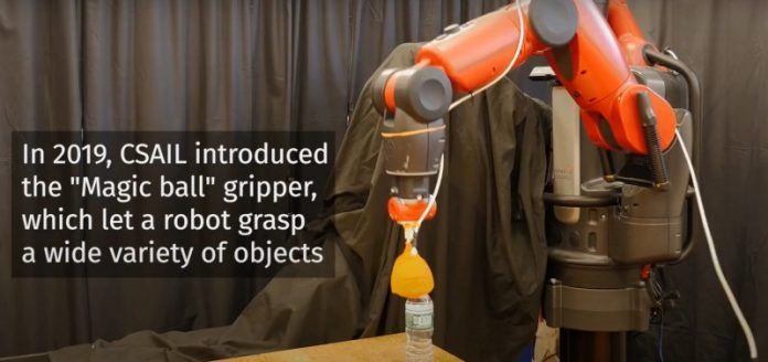 В MТІ створили «м'яких» роботів, які вміють захоплювати легкі предмети