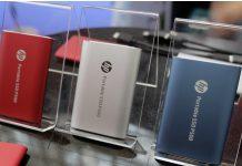 HP представила свій перший портативний SSD P500 1 ТБ