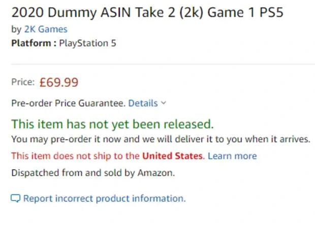 На Amazon з'явилися сторінки PS5 і декількох відеоігор для консолі