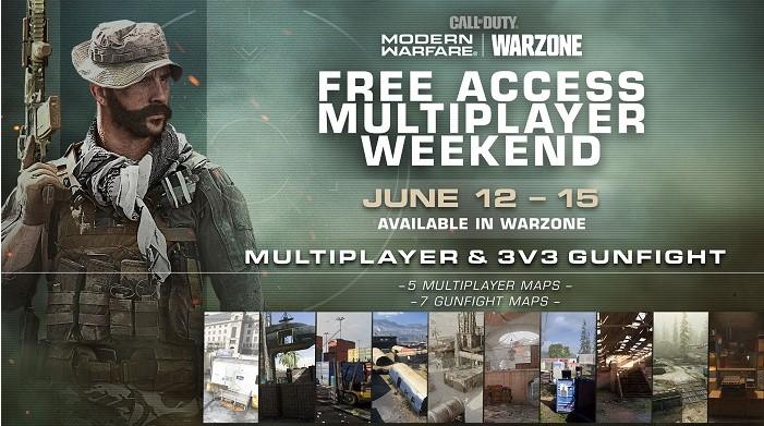 Сьогодні Call of Duty Modern Warfare знову стане тимчасово безкоштовною