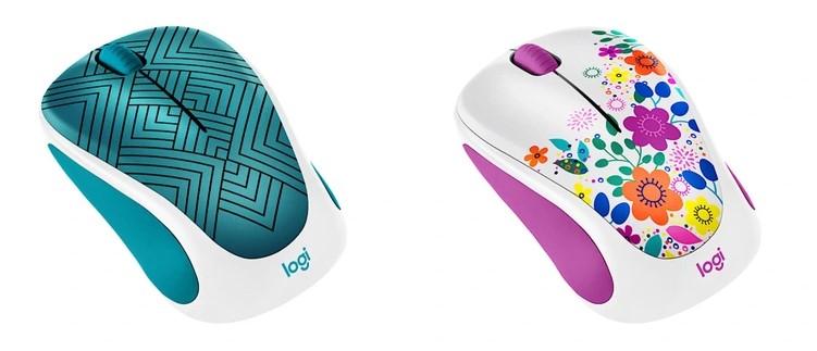Logitech випустила колекцію бездротових мишок з дизайнерськими принтами