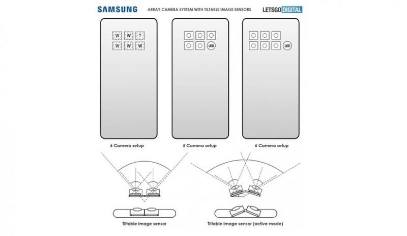 Samsung працює над смартфоном, який отримає камеру із шести датчиків