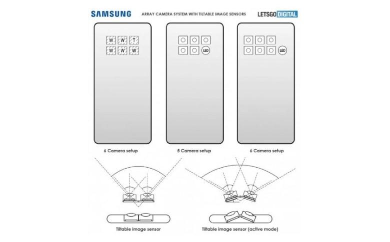 В смартфонах Samsung з'явиться механізм нахилу камер