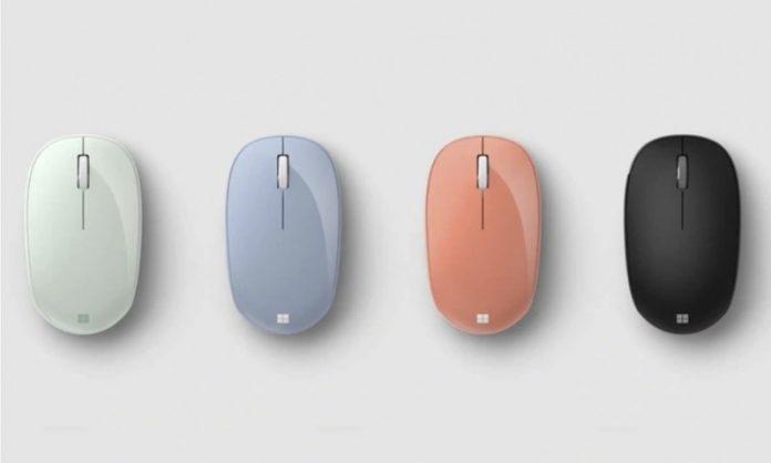 Компанія Microsoft представила комп'ютерні миші Modern Mobile Mouse і Bluetooth Mouse