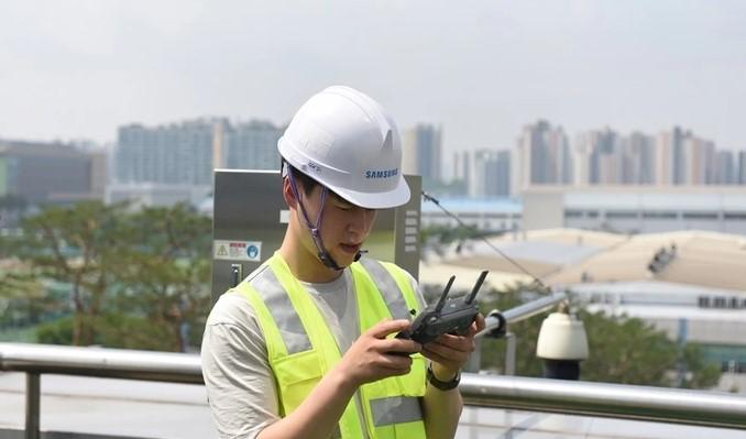 Samsung вирішила проблему налаштування антен стільникового зв'язку за допомогою дронів і ШІ